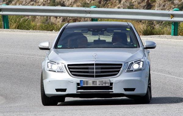 2018 Mercedes-Benz S-Class Facelift Previewed