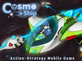 Cosmo Ship - Spaceship War Android Game buatan Indonesia