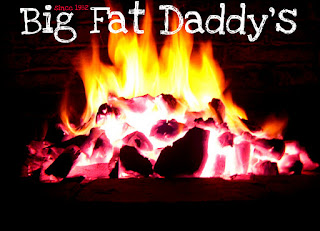 Big Fat daddys barbecue flames picture