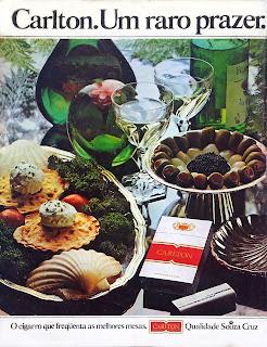 anos 70, propaganda de cigarros anos 70, história anos 70, reclames anos 70, oswaldo Hernandez.