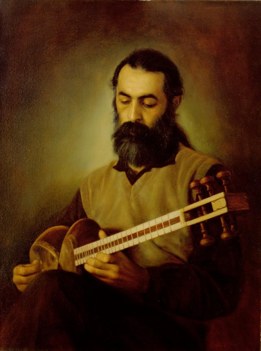 Retrato do Falecido Mehran Lotfi - Iman Maleki e suas pinturas realistas ~ Pintor iraniano