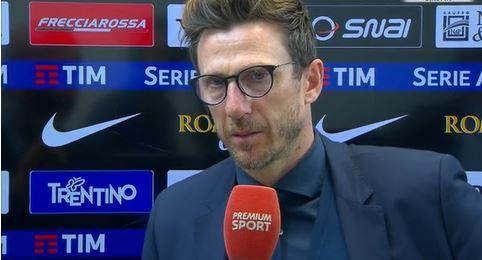 Roma Chievo 4-1 le parole di Di Francesco nel post partita
