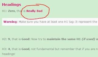 Cara mengatasi H1 Zero blogger di Schkme