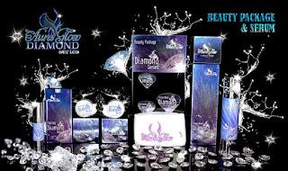 beauty package serum aura glow diamond series