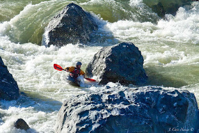 whitewater kayaking Eel River