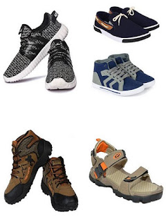 Flipkart Offer Get upto 60% off on Mens Footwear