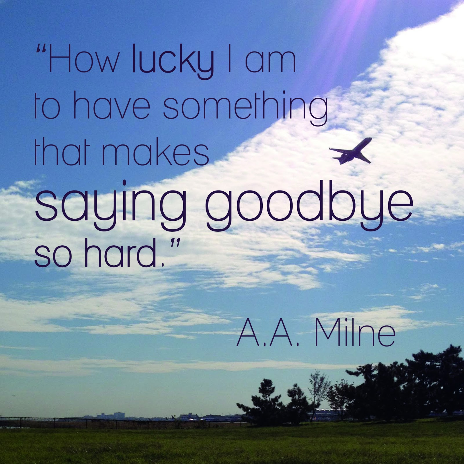 Pooh Quote About Saying Goodbye: Doe A Deery: On Transition, Clarity And Luck