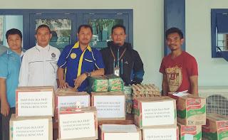 KELUARGA BESAR FKIP dan IKA FKIP Unismuh Kumpulkan Bantuan untuk Korban Banjir di Gowa