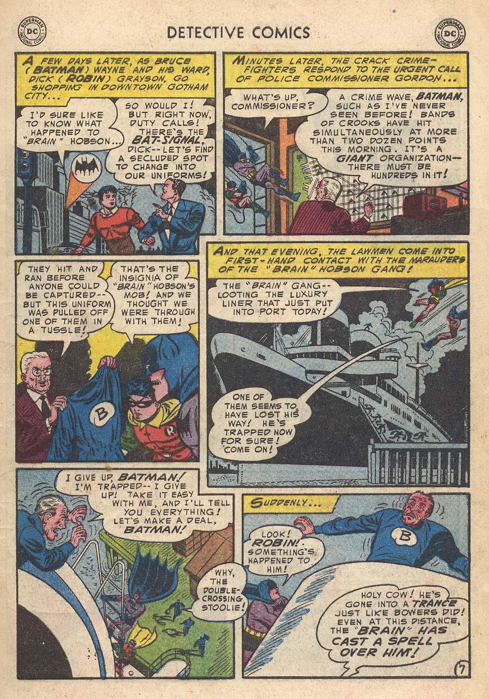 Read online Detective Comics (1937) comic -  Issue #210 - 9