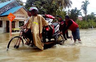 Photo Essay : Banjir Aceh Jaya dan Aceh Barat, 5 Januari 2017