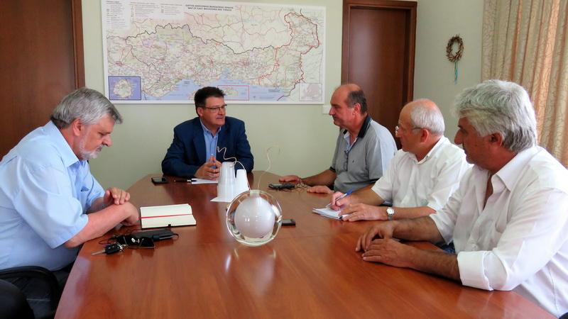 Συνάντηση Πέτροβιτς με τον Πρόεδρο του ΕΛΓΑ