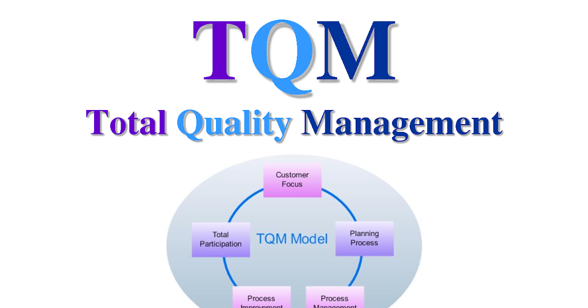 Total Quality Management (TQM) Consulting Services