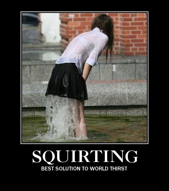 Ragazza Squirting pipì