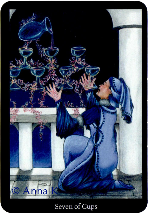Anna K Tarot Seven of Cups