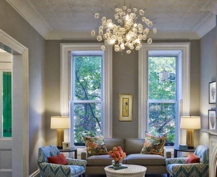 tips memilih desain lampu hias gantung ruang tamu tampak