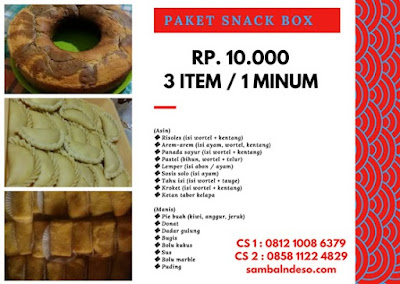 harga aneka snack kota Tangerang