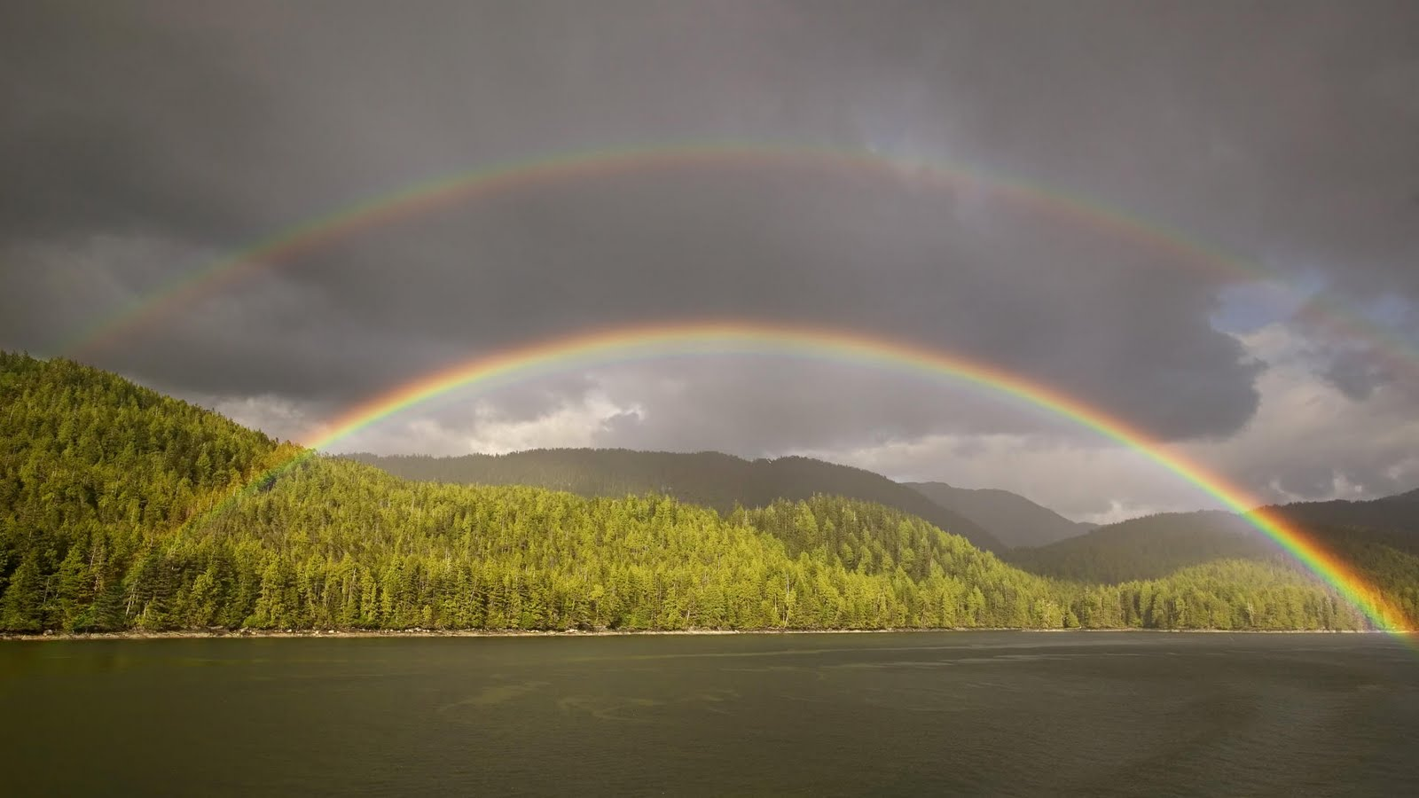 real rainbow wallpaper - photo #19