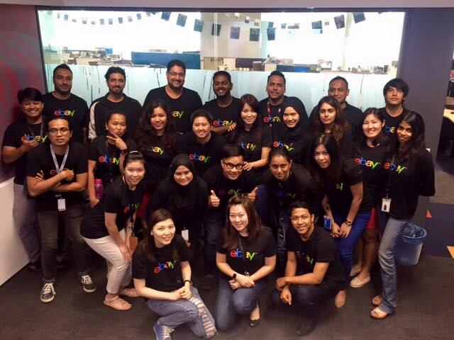 eBay Malaysia team