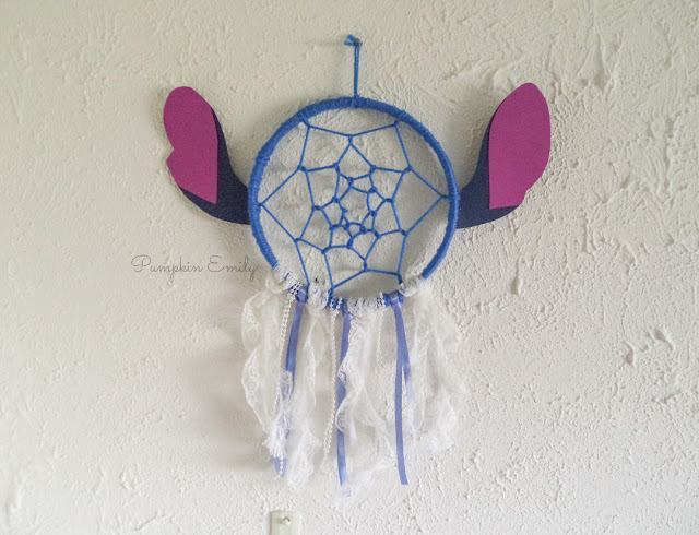 DIY Stitch Dreamcatcher