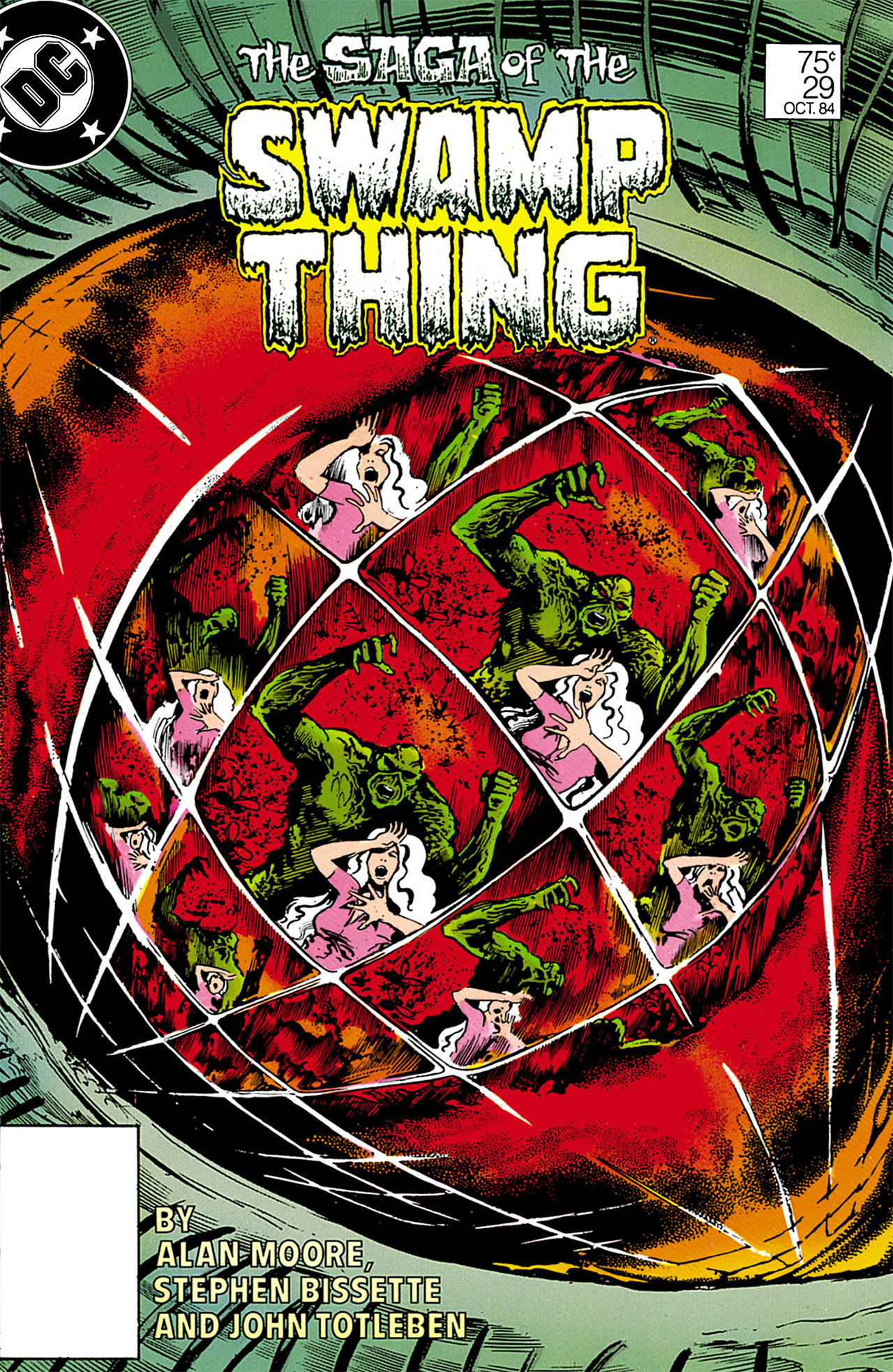 Swamp Thing (1982) Issue #29 #37 - English 1