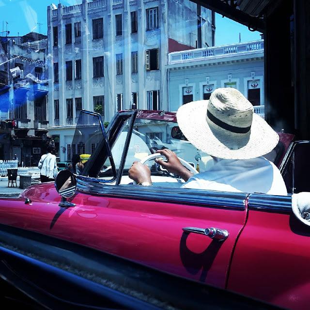 Vintage Taxi - Havana