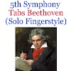 5th Symphony Tabs Beethoven. How To Play Fifth Symphony (Solo Fingerstyle) On Guitar Online