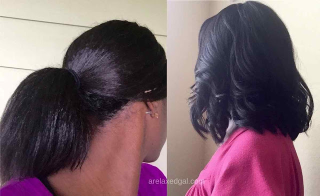 The highlights of my relaxed hair journey in July 2015 | arelaxedgal.com