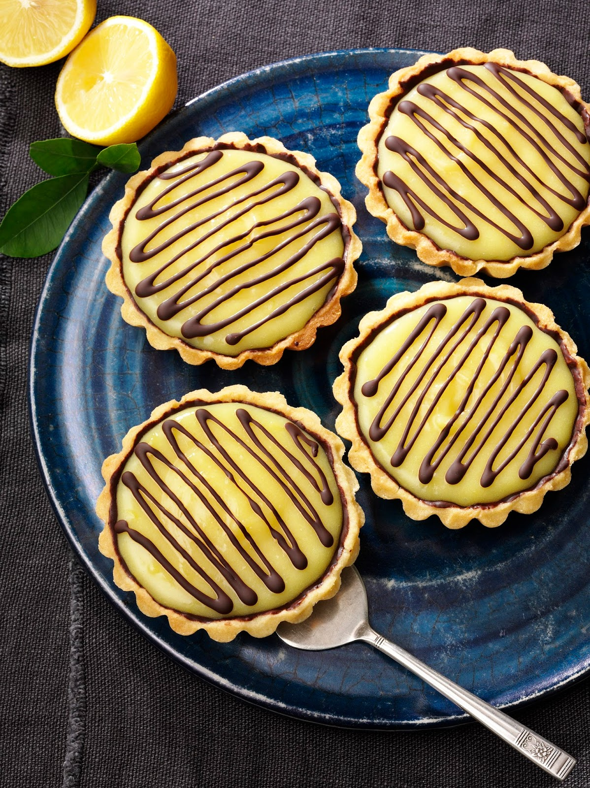 Lemon and Chocolate Tart: Afternoon Tea Recipe