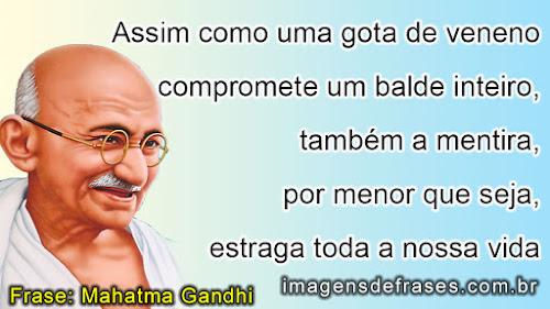frases de Gandhi sobre a vida