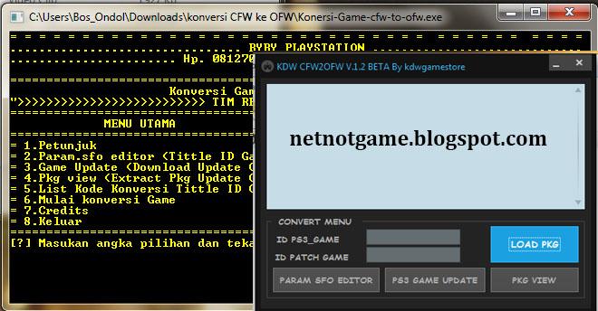 Software Untuk Convert Game Cfw Berikut Cara Menggunakannya