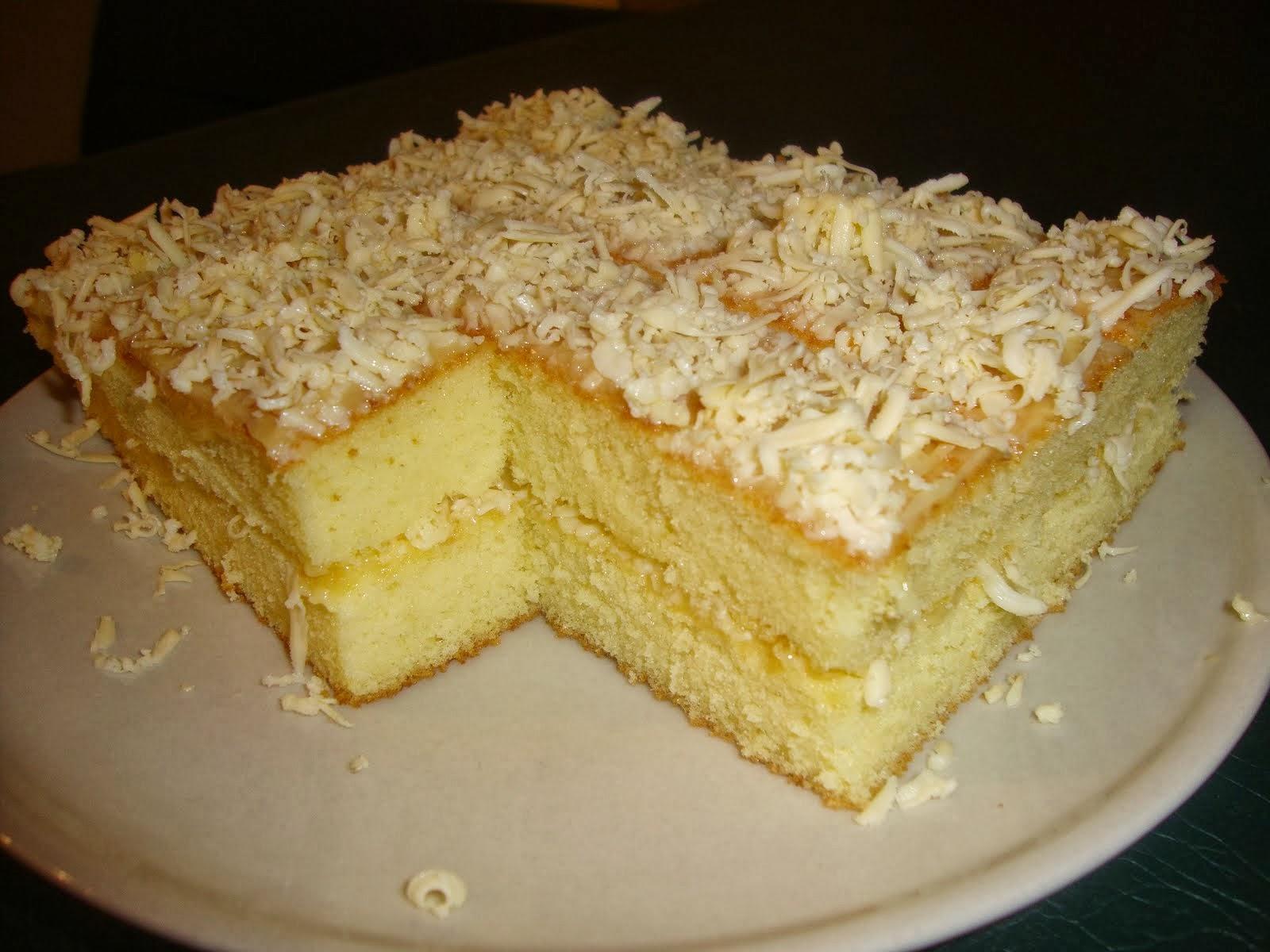 DAPUR PAK OBOG: RESEP MEMBUAT CAKE KEJU