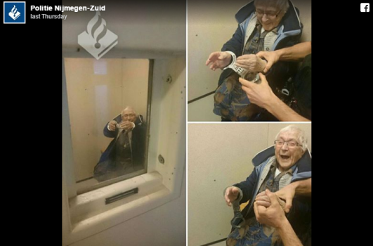 Meet the 99-Year Old Women Whose Dream is to be Arrested, and She Got It