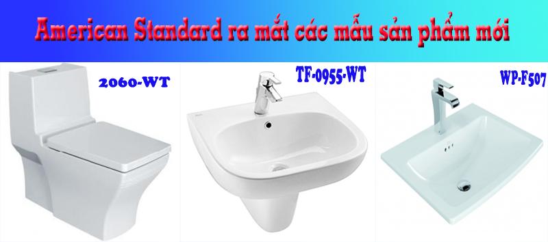Những thiết bị vệ sinh mới ra mắt của American Standard