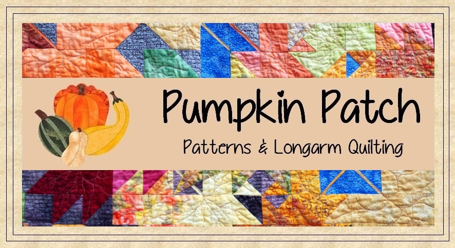 Pumpkin Patch Patterns & Quilting