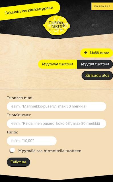 Tiitiäinen & Tyllerö Secon hand Pori Isokarhu