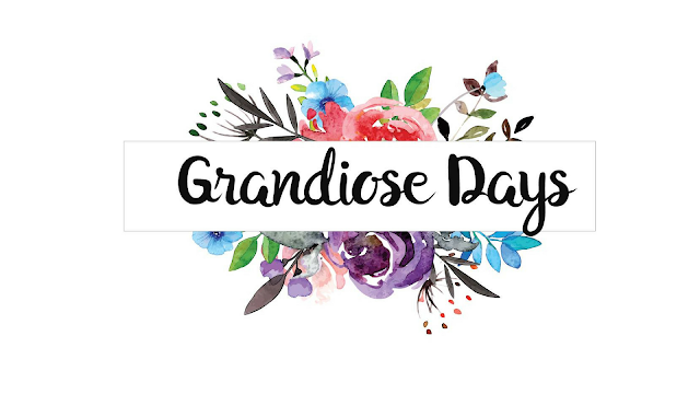 grandiose days floral blog header
