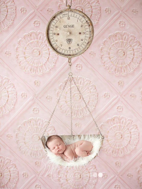 Hanging scale baby infant