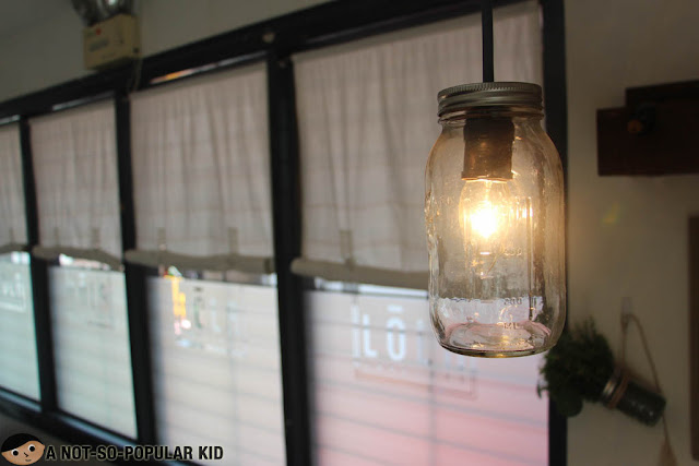 Mason Jar Light Bulb