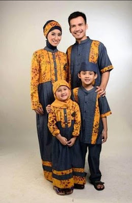 model baju batik muslim anak muslim