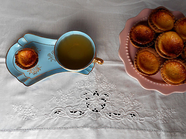 receita miniaturas de baunilha