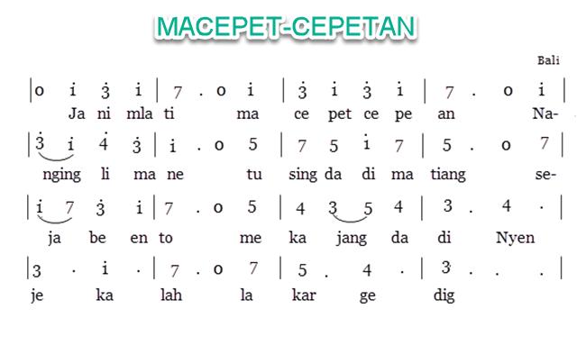 Macepet-cepetan
