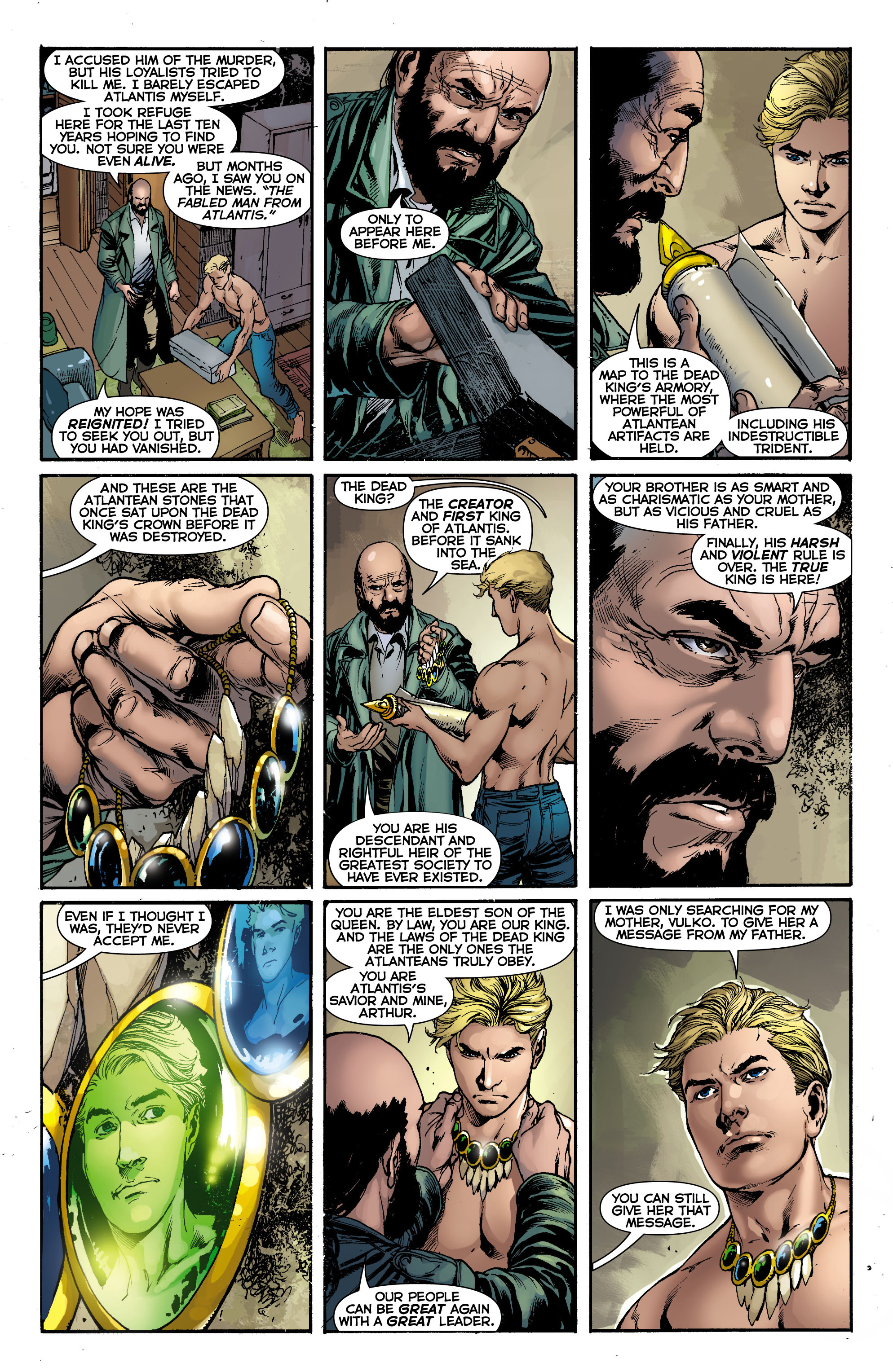 Read online Aquaman (2011) comic -  Issue #0 - 19