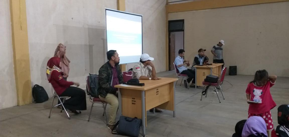 Pendamping PKH Kecamatan Sepatan Timur Adakan Sosialisasi Pencairan Dana PKH 2019
