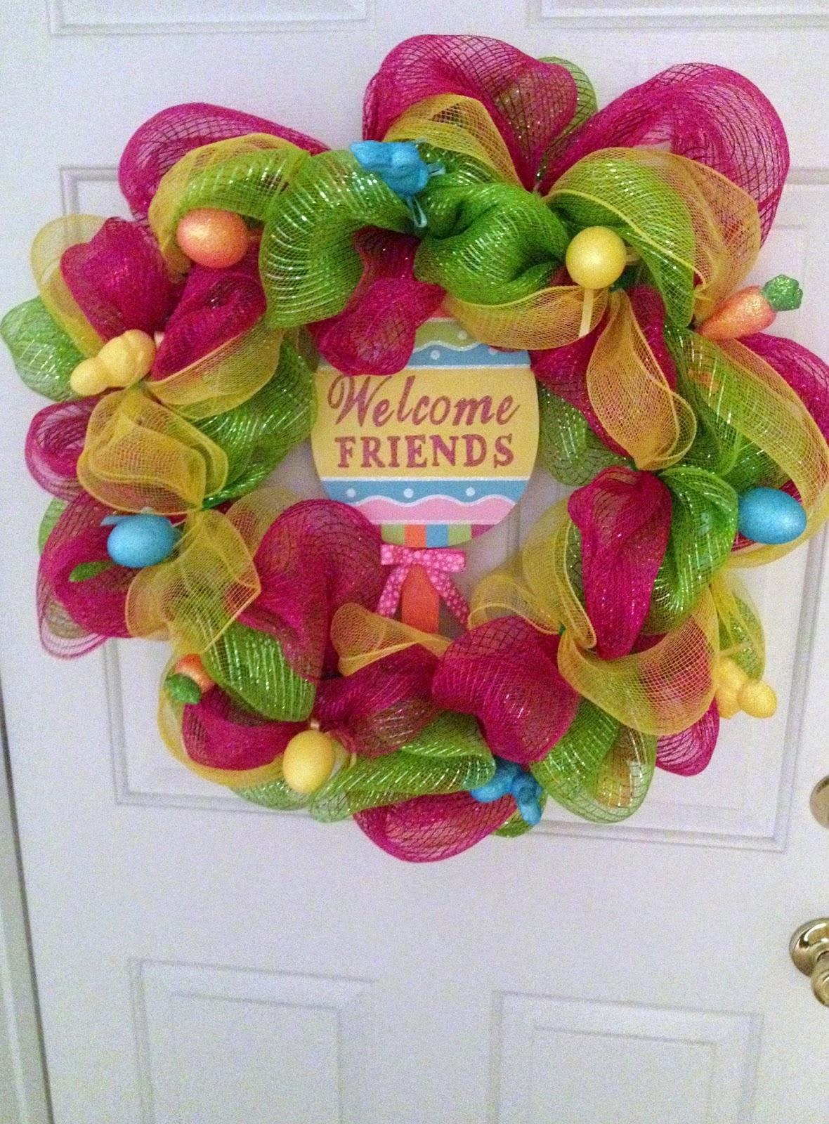 It's the Grad Life: 7 Step DIY Easter Wreath