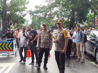 Kapolrestabes Medan Pimpin Reuni Akbar Alumni 212 di Mesjid Al Jihad Medan