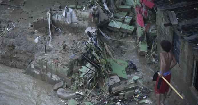 Más de 1, 200 viviendas han sido afectadas por el paso del huracán María
