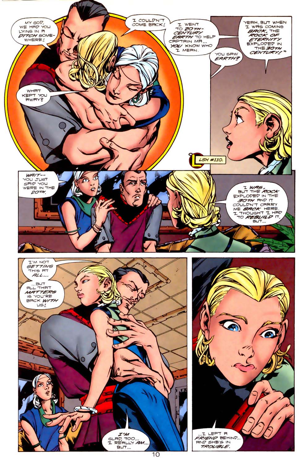 Legion of Super-Heroes (1989) 116 Page 10