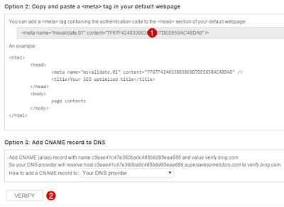 Cara Submit Blog ke Mesin Pencari Bing dan Yahoo