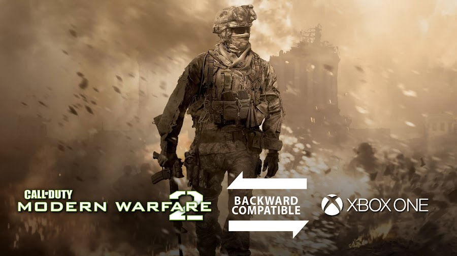 call of duty modern warfare 2 backward compatible xbox one