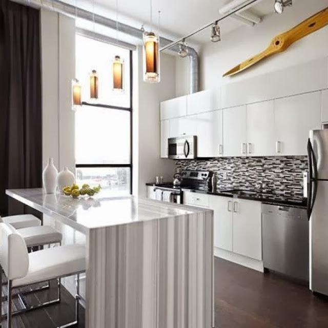 Dapur yang Nyaman dan Elegan